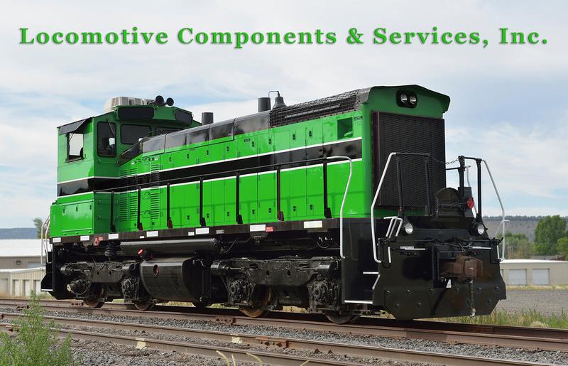 EMD SW1500 - Locomotive Components